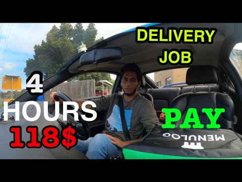 MENULOG DELIVERY JOB | PAY ? | WORK HOURS ?