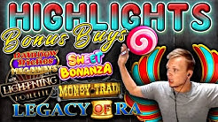 HIGHLIGHTS - Roulette, Moneytrain, Rainbow Riches Megaways, Legacy of Ra Megaways - 5000€ Profit!!