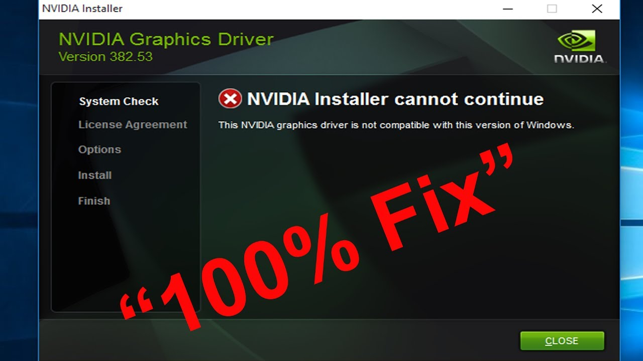 Nvidia geforce experience installer cannot continue | Fix