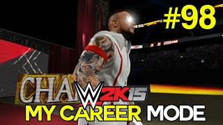 wwe 2k15 my career mode ep 98 what a jabroni wwe mycareer xbox one ps4 next gen part 98