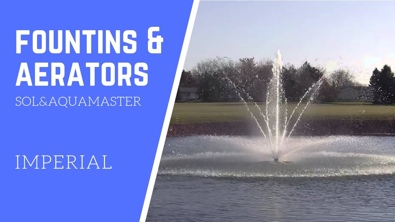 Water fountains masters - Imperial Masters Series Aquamaster Fountains And Aerators