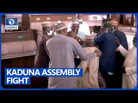 Fist Fight In Kaduna Assembly Over Impeachment Of Deputy Speaker [FULL VIDEO]
