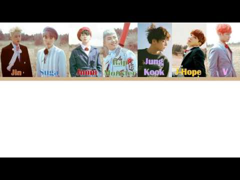 BTS (방탄소년단) Fire Türkçe altyazılı [Color coded-Han-Rom-Tr]