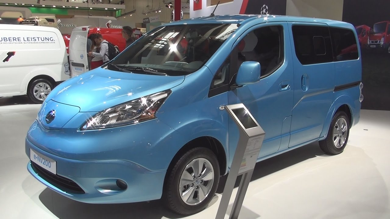 nissan e nv200 evalia 7 seater tekna combi van 2017. Black Bedroom Furniture Sets. Home Design Ideas
