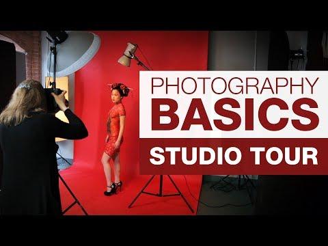 PHOTOGRAPHY BASICS | Studio Tour