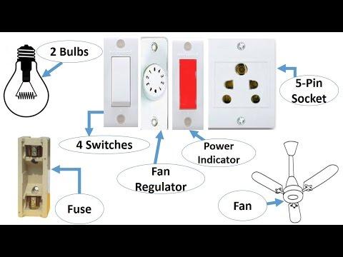 Electric Board Wiring In Urdu & Hindi