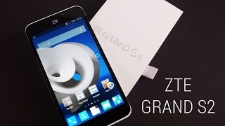 zTE Grand S2 Unboxing