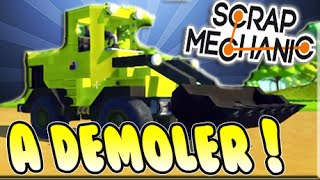 [SCRAP MECHANIC] VEHICULOS PARA CONSTRUIR, DESTRUIR Y MAS!!. PleyMoar