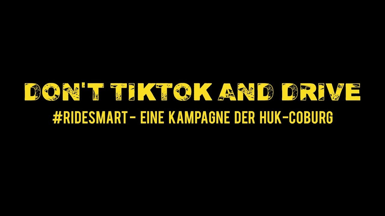 AlinaMour I Don't TikTok and Drive I Ride smart - sicher unterwegs