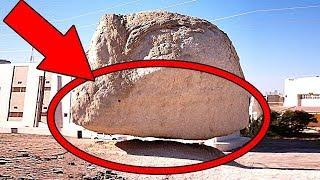 """أشهر 10 صخور معلقة فى العالم  , """" لماذا لا تسقط هذه الصخور """" .. !!"""