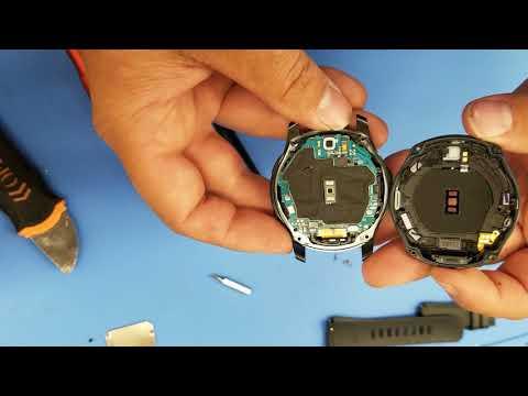 Samsung Gear S3 Frontier teardown, battery replacement