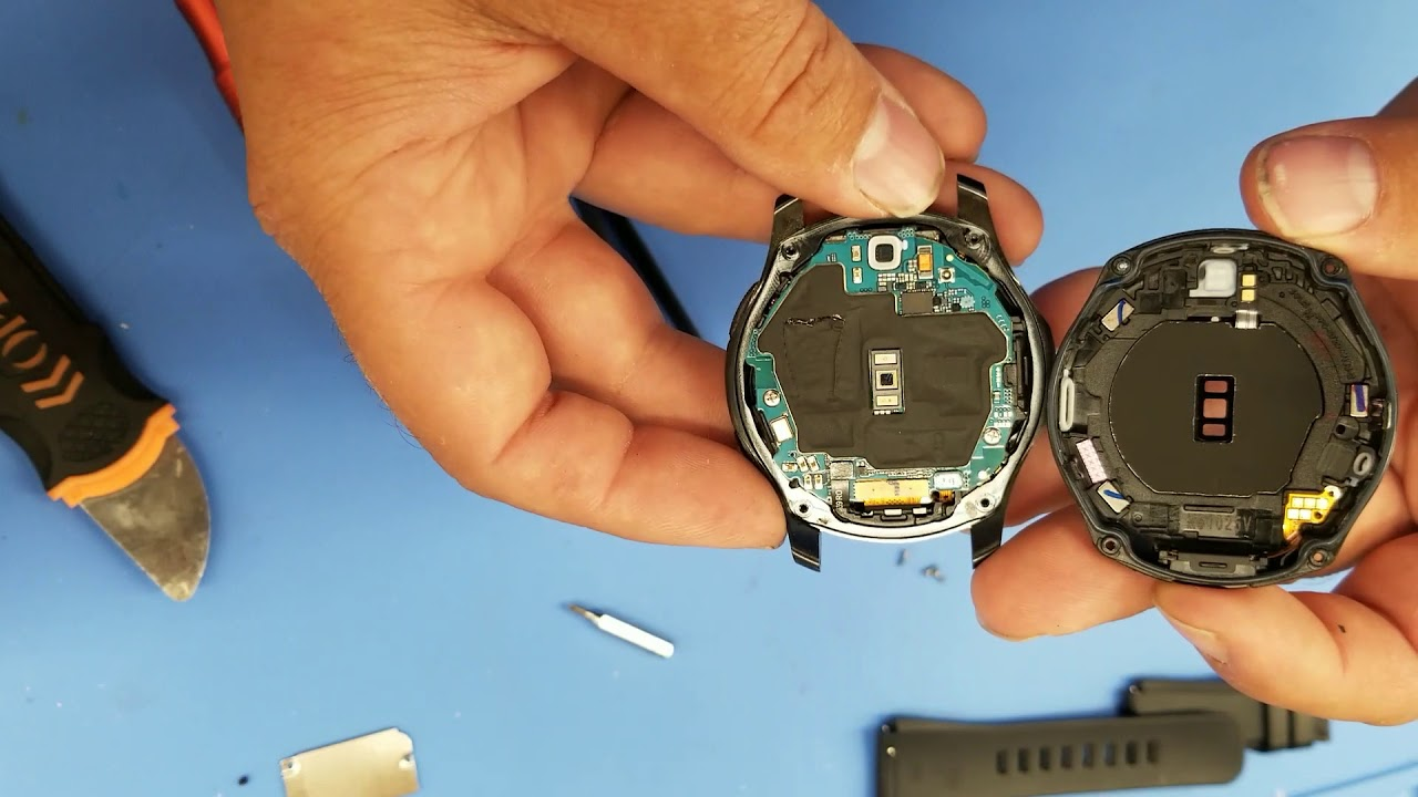 Samsung Gear S3 Frontier Teardown Battery Replacement