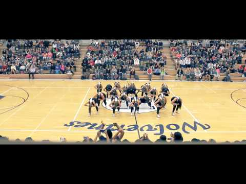 Homecoming Assembly Hip Hop Performance - Hunter High Dance Company 2014-2015