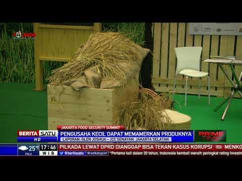 Pengusaha Kecil Pamerkan Produknya di Jakarta Food Security Summit