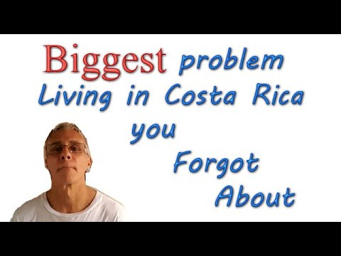 BIGGEST Problem Living in Costa Rica You Don't Think About