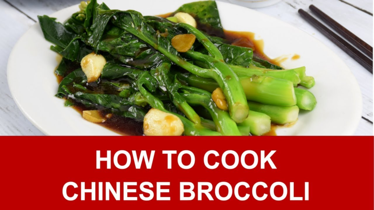 Chinese Broccoli  How To Cook In 3 Simple Steps - Youtube-5716