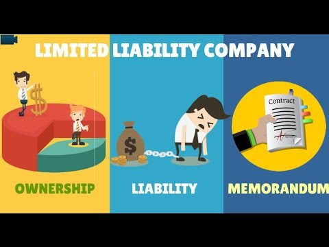 LLC explained - UAE Companies law Animation
