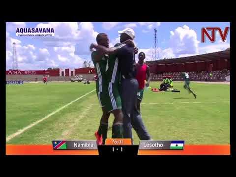 Uganda hippos to face Lesotho in COSAFA semi final