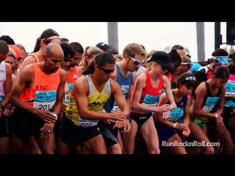 2013 Rock 'n' Roll San Diego Marathon And Half Marathon Highlights