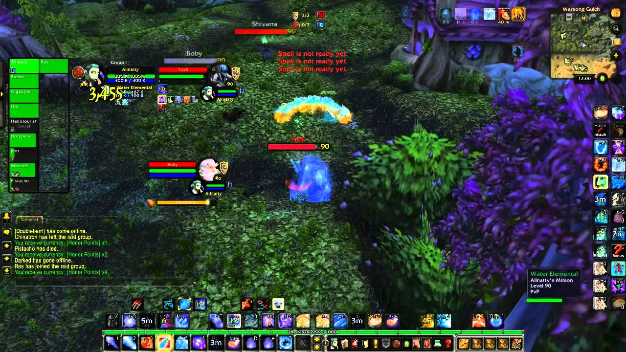 Natural 1: Mage PVP, Heroes-WoW