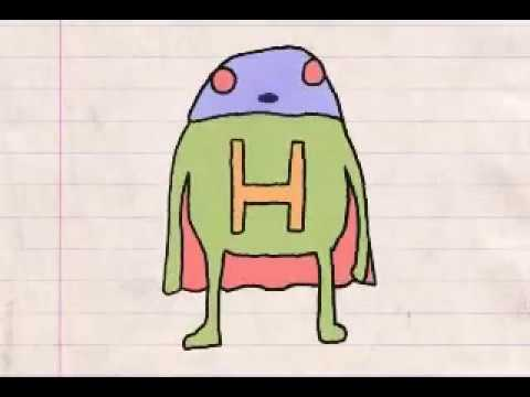 Homework Hero : A Funny but Super Simple Colored Pencil Cartoon Animation