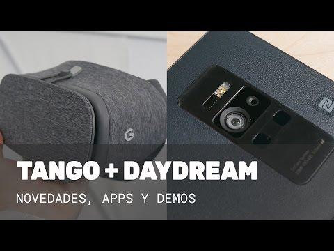 Novedades de Tango y Daydream en el Google I/O 2017
