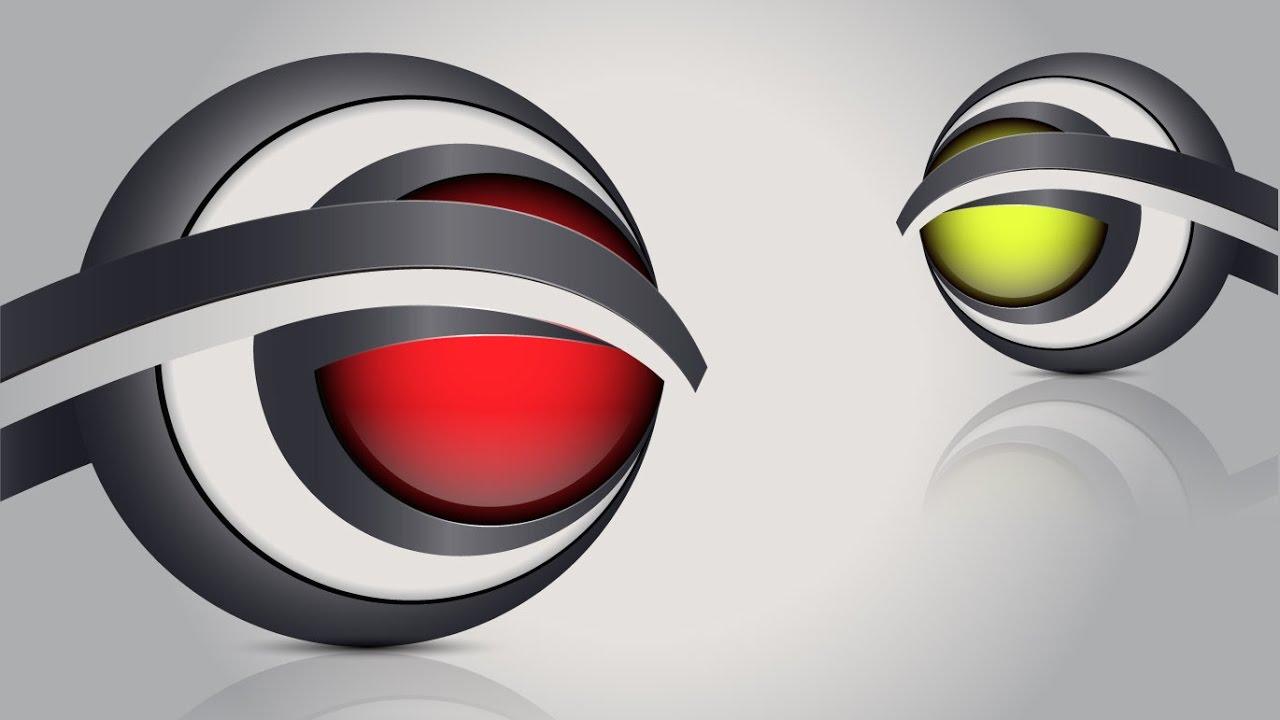 Adobe Illustrator Tutorial | 3D Logo Design (Bulge Effect ...