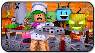 Spooky Halloween Chef And Decoration Update Roblox Restaurant Tycoon