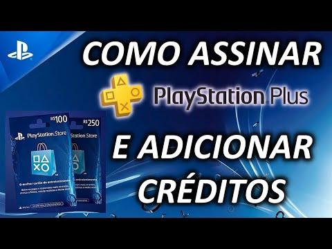 Como Adicionar Créditos na PlayStation®Store e Assinar a PlayStation®Plus - PSN Brasil