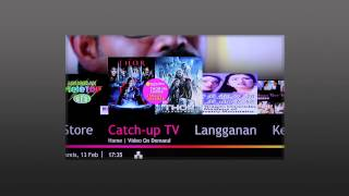 Rancangan-rancangan percuma di Video On Demand