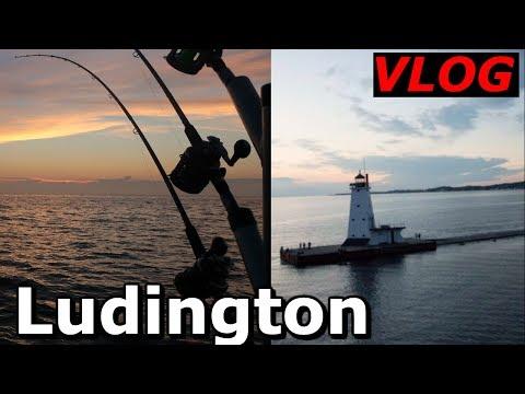 Ludington Michigan Salmon Fishing | Ludington Vlog