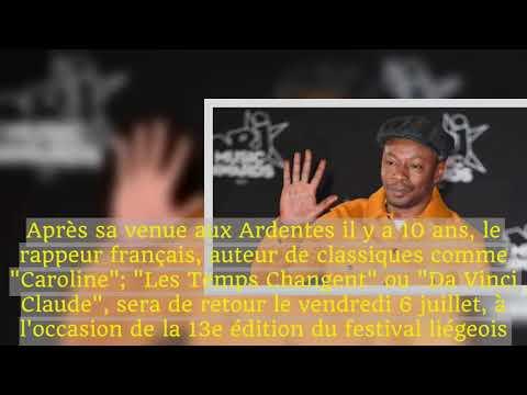 MC Solaar et Massive Attack aux Ardentes