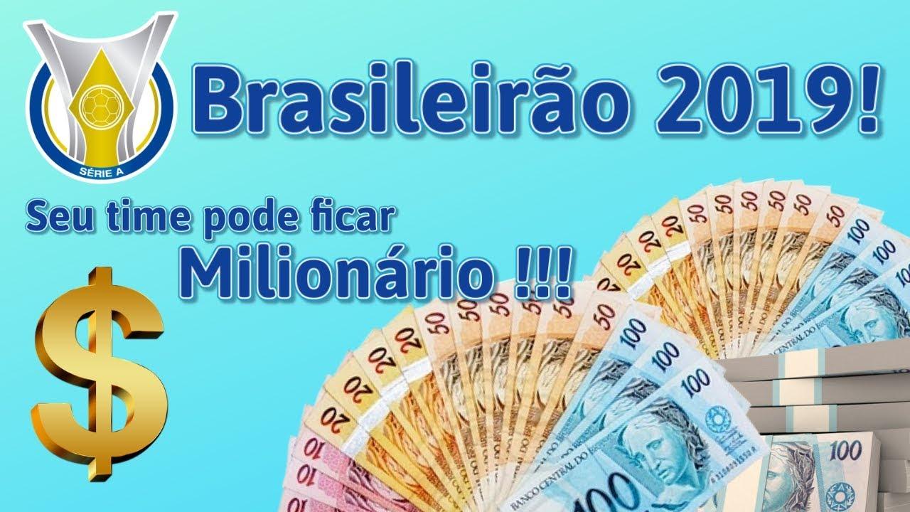 Quanto seu time vai ganhar no Brasileirão? É MUITA GRANA!