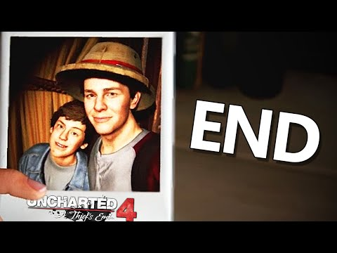 THE ENDING OF THE UNCHARTED SERIES - (Uncharted 4 Gameplay Story Mode End / #14)