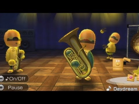 making a rap song on wii music