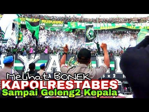 Kapolrestabes Sby kagum Melihat Aksi dan Chant Bonek di Tribun Green Nord   Persebaya vs Persija