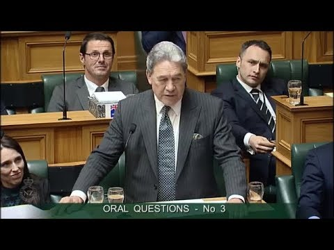 Question 3 - Paula Bennett to the Deputy Prime Minister