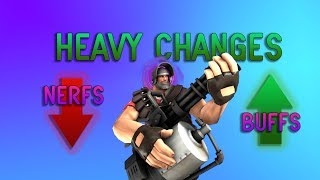 TF2: Heavy Update Changes