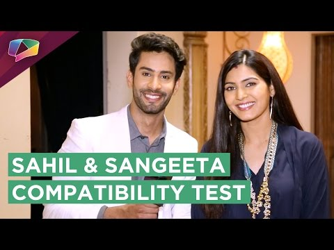 Sahil Uppal and Sangeeta Chauhan AKA Meghna & Kunal Share Their Prank Story   Compatibility Test