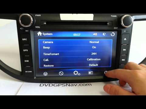 Honda CRV Navigation DVD 2012 2013 2014 Honda CRV Sat Nav DVD GPS
