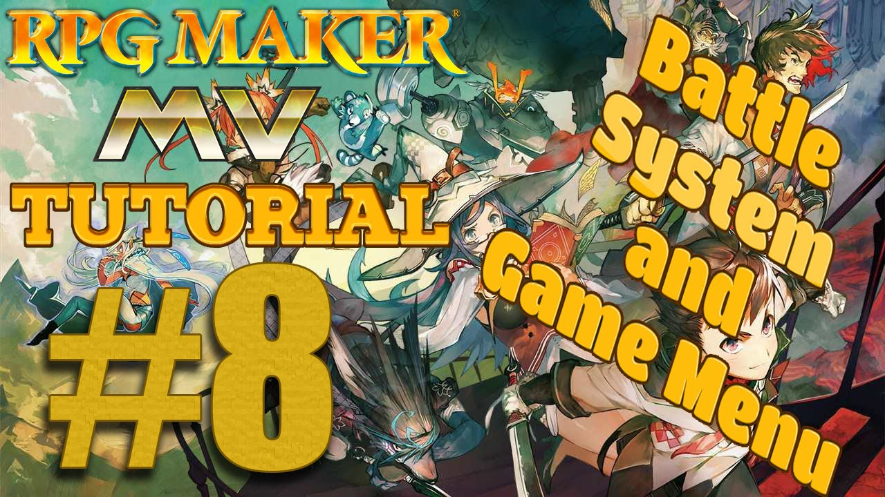 RPG Maker MV Tutorial World - Battle System and Game Menu