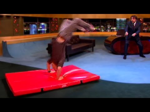 Bear Grylls Does A Backflip - The Jonathan Ross Show