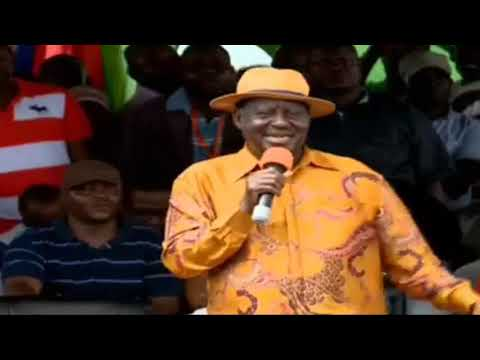 Raila CONFESSES What will Happen on 25th October, the Day Before Elections ( CAT is CORRUPT SYSTEM)