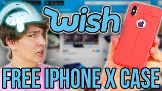 Free iPhone X Case - Buying 5 Wish Tech Items