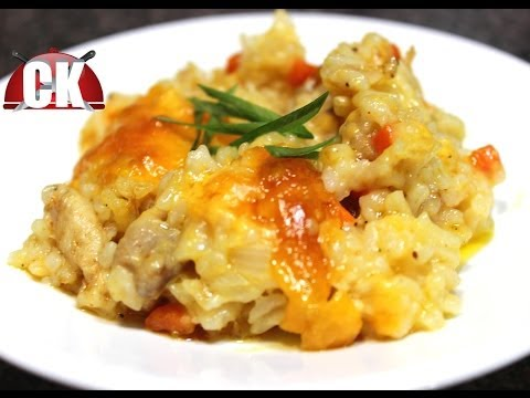 How To Make Cheesy Chicken And Rice - Chef Kendra's Easy Cooking!