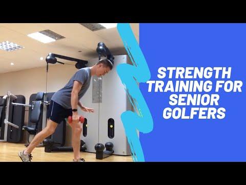 Strength Training for Senior Golfers (Strength, Stability and Balance)