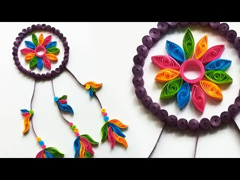DIY Paper Quilling Dream Catcher | Quilling Dream Catcher | Dream Catcher | Paper Quilling