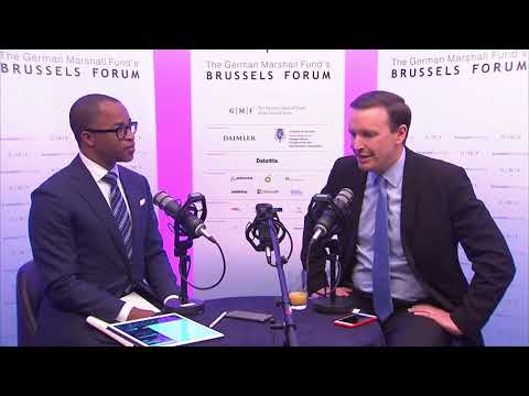 Brussels Forum 2018: Interview with Senator Chris Murphy