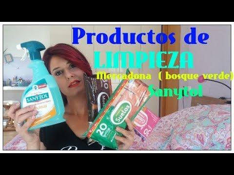 Productos de limpieza mercadona sanytol toallitas ba o for Bano de color mercadona