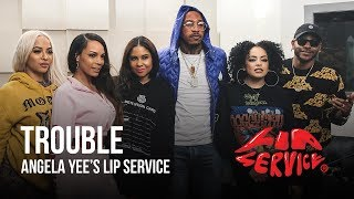 Hip Hop artist, Trouble and singer, Eric Bellinger join the ladies ...